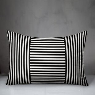 Conger Patchwork Stripe Lumbar Pillow