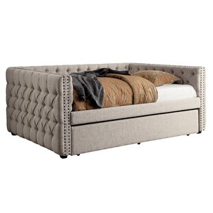 Compare & Buy Zael Daybed with Trundle by Darby Home Co Reviews (2019) & Buyer's Guide