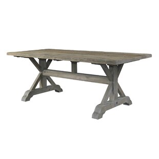 Salvaged Wood Solid Wood Dining Table by ..