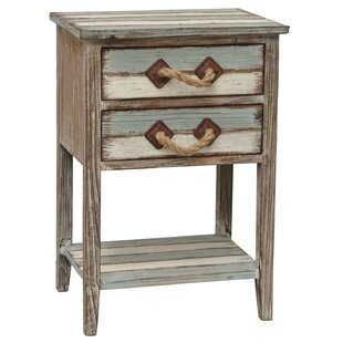 Rushmore Wood End Table II by Beachcrest Home