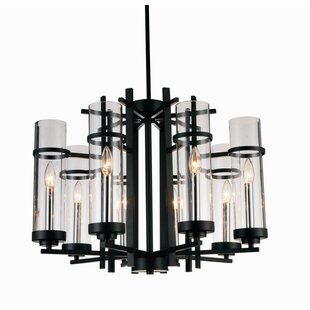 Gracie Oaks Maren 8-Light LED Candle-Style Chandelier