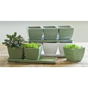 Ryans Herb Terra Cotta Pot Planter (Set Of 3)