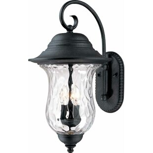 Aurora 3-Light Outdoor Wall Lantern