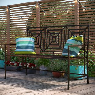 New Meadows Iron Garden Bench