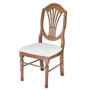 Sakai Solid Wood Dining Chair by Charlton..