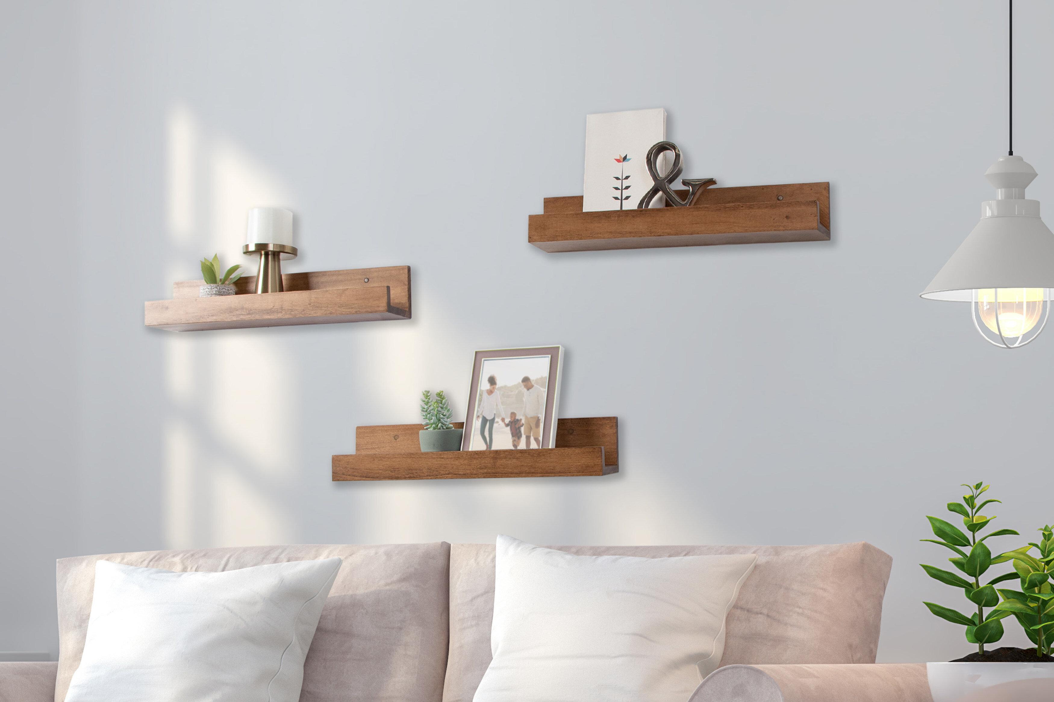 Brown Latitude Run Wall Display Shelves You Ll Love In 2021 Wayfair