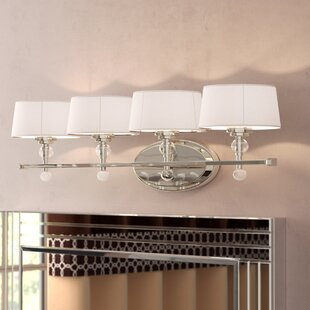 Affordable Lewis 4-Light Vanity Light By Willa Arlo Interiors