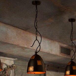 Claude 1-Light Bell Pendan..