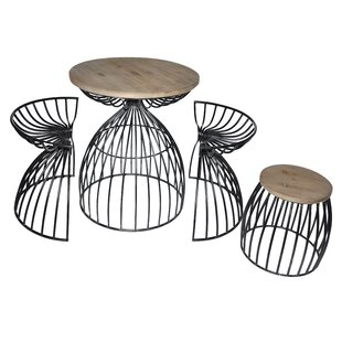 4 Piece Dining Set by Cheungs Modern