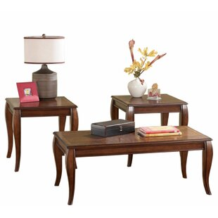 Crist 3 Piece Coffee Table Set by Darby Home Co