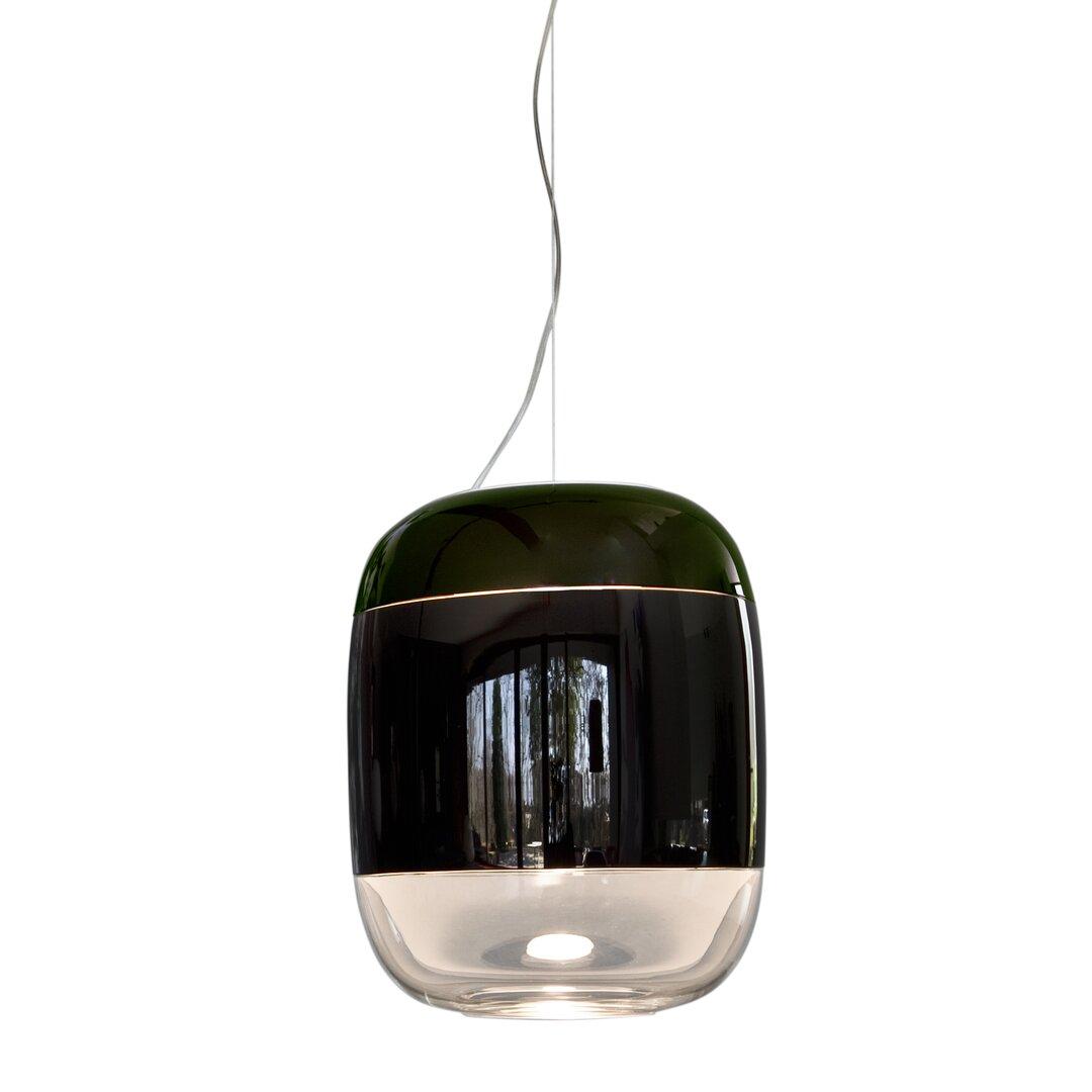 Gong 1 - Light Single Jar LED Pendant
