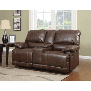 Heinzer Reclining Loveseat Red Barrel Studio