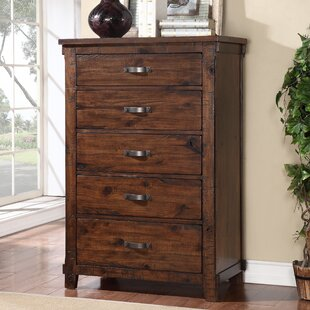 Loon Peak Camas 5 Drawer Chest