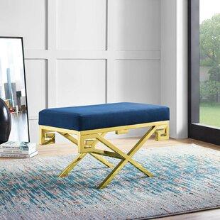 Mercer41 Hwang Upholstered Bench