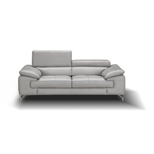 Mayer Leather Loveseat