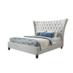 Racine Upholstered Platform Bed by Rosdorf Park