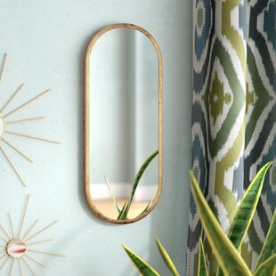 Merrick Oval Accent Mirror by Mistana