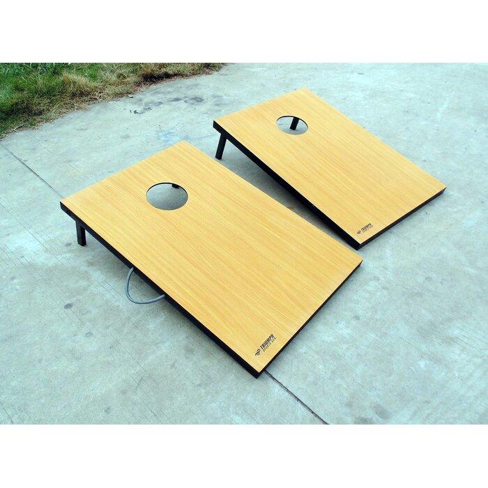 Miraculous 2 X 3 Tournament Manufactured Wood Cornhole Board Short Links Chair Design For Home Short Linksinfo
