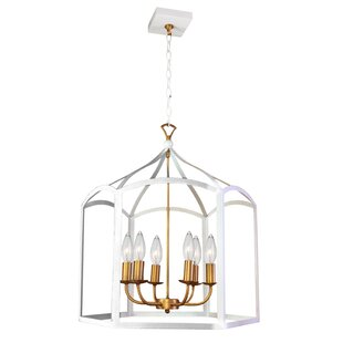 House of Hampton Syren Transitional 6-Light LED Lantern Chandelier