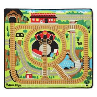 Top Reviews 4 Piece Round the Rails Train Playmat Set ByMelissa & Doug