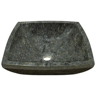 MR Direct Butterfly Stone Square Vessel Bathroom Sink