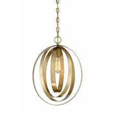 Zeta 1-Light Globe Pendant