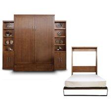 Delapaz Contemporary Queen Murphy Bed by Brayden Studio