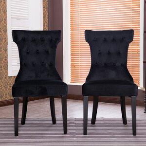 Premium Parson Chair (Set of 2) by Belleze