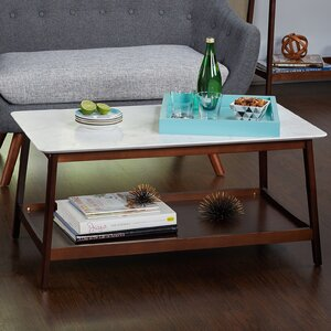 Qualls Coffee Table by Varick Gallery