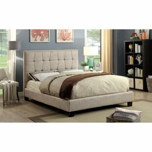 Jedlicka Solid Wood Tufted Upholstered Platform Bed by Latitude Run