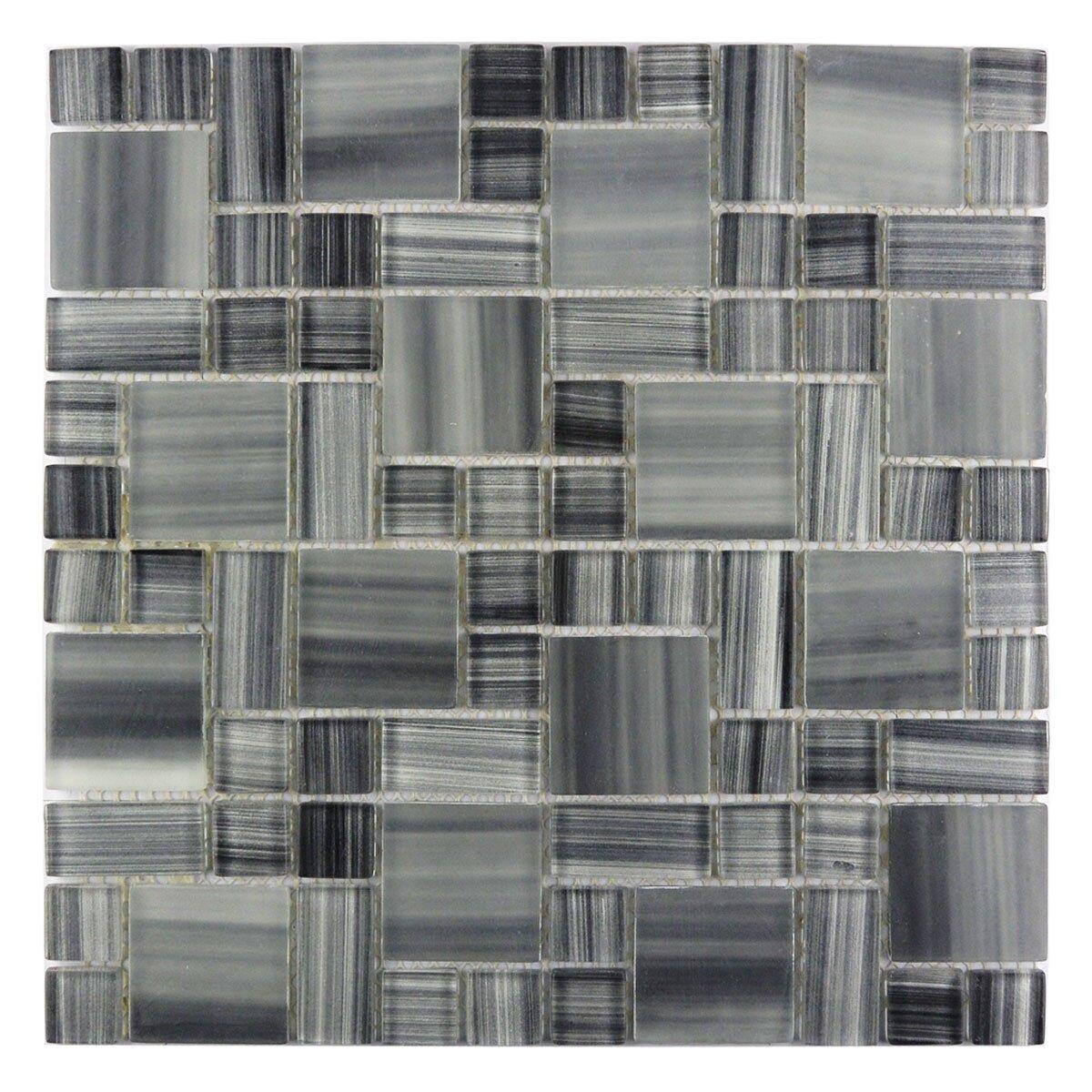 Abolos Handicraft Ii Magic 1 88 X 1 88 Glass Grid Mosaic Tile Reviews Wayfair