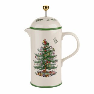 Christmas Tree 7.5-Cup Cafetiere French Press Coffee Maker