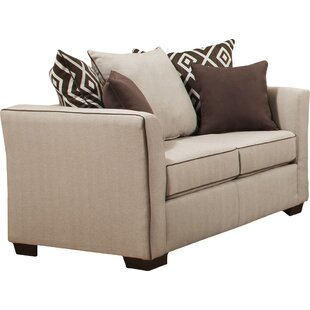 Great Price Simmons Upholstery Woodbridge Loveseat by Wrought Studio