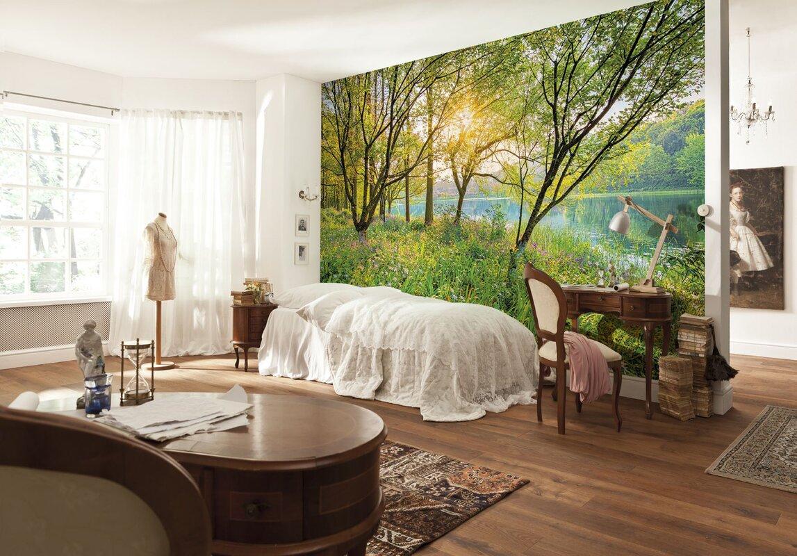 brewster home fashions komar spring lake wall mural reviews default name