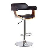 Adjustable Height Swivel Bar Stool by AC Pacific