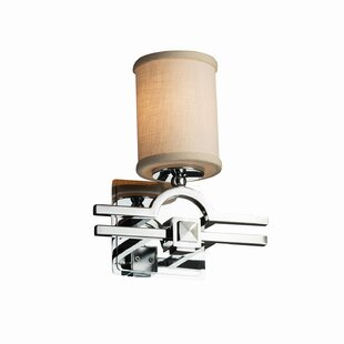 Red Hook 1 Light Square w/ Flat Rim Armed Sconces by Latitude Run