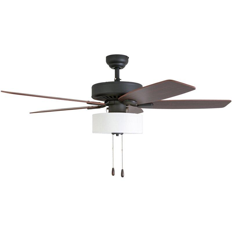 52 Harkers 5 Blade Led Ceiling Fan