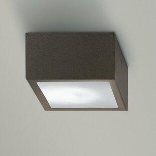 ZANEEN design Four 1-Light Flush Mount