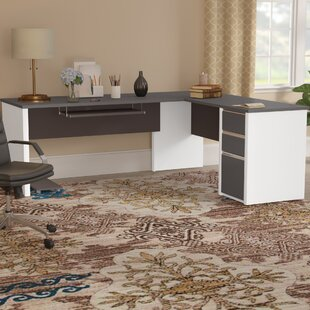 Aurea L-Shape Executive Desk by Orren Ellis #1