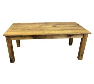 Ezekiel and Stearns Solid Wood Dining Table