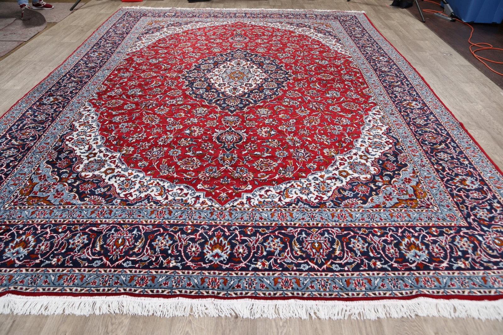 Rugsource Power Loom Wool Red Blue Rug Wayfair