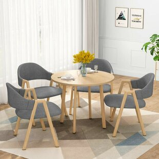 Fedor Upholstered Dining Chair (Set of 4)