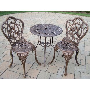 Hummingbird 3 Piece Bistro Set