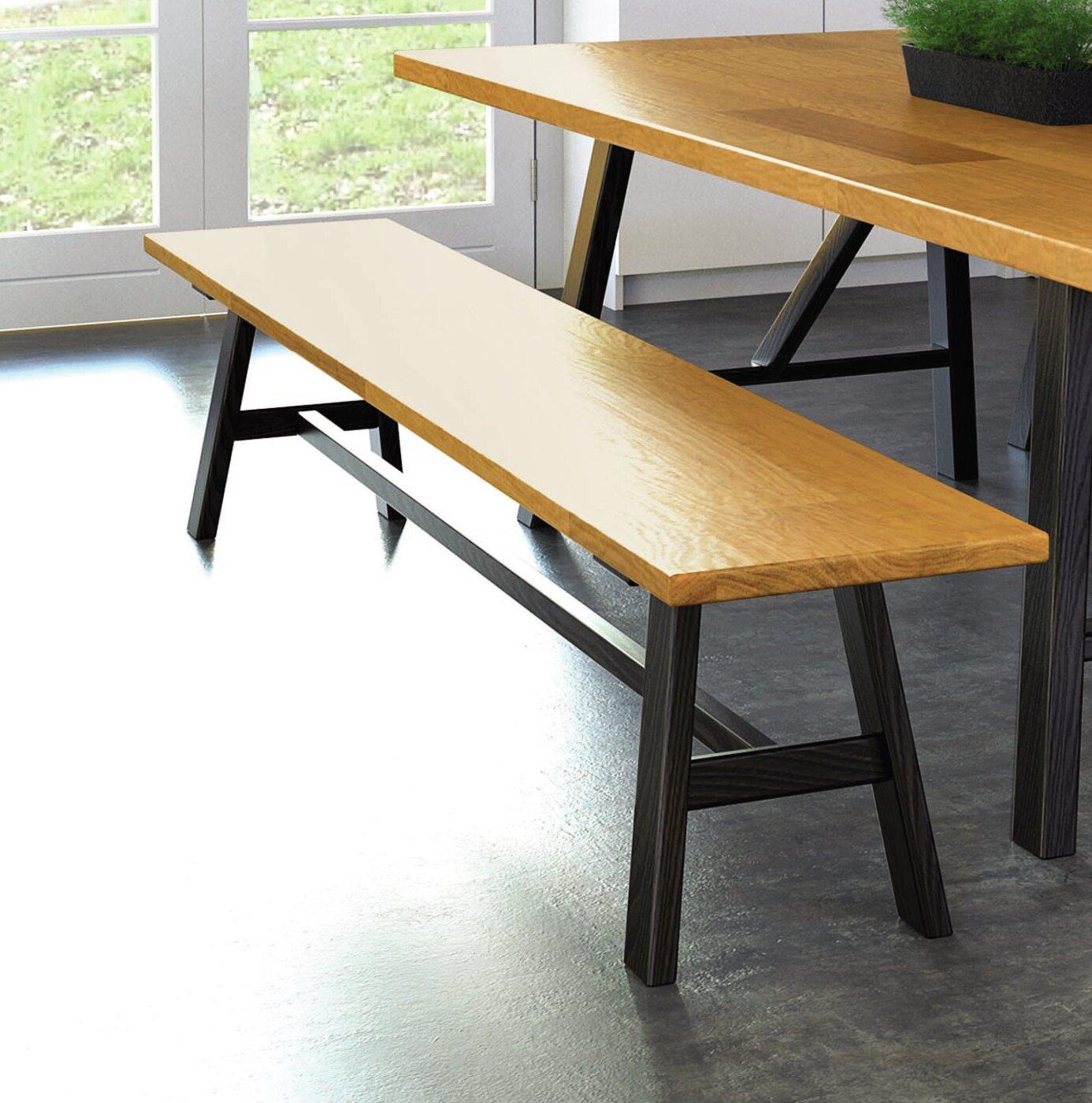 Copeland Furniture Modern Farmhouse Wood Bench Wayfair