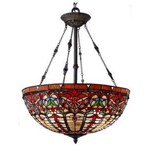 Astoria Grand Sari 3-Light Bowl Pendant