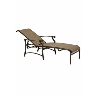 Montreux II Sling Reclining Chaise Lounge