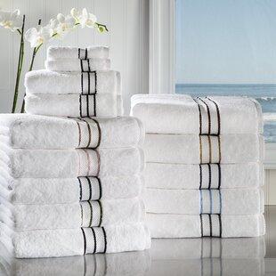 Patric 6 Piece 100% Cotton Towel Set