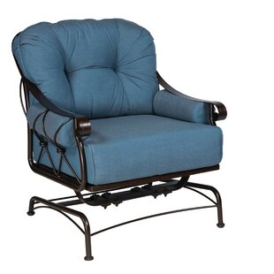 Woodard Derby Spring Lounge Chair With Cu..