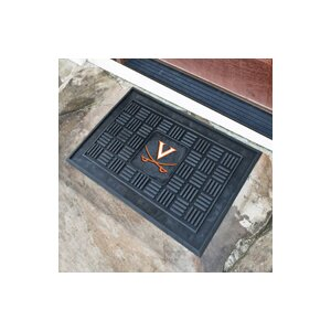 NCAA University of Virginia Medallion Door Mat