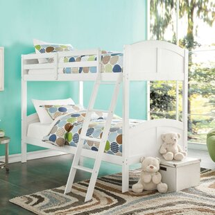 Amalda Twin Over Twin Bunk Bed by Harriet Bee